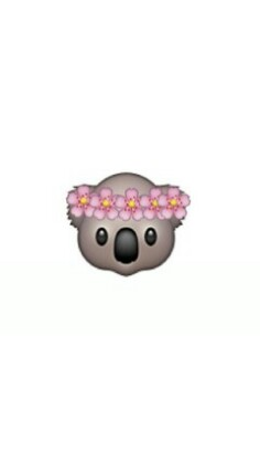 Funny Monkey And Wallpaper Image Cute Middot Emoji Flowercrown