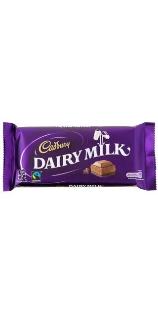 Dairy Milk or Galaxy?